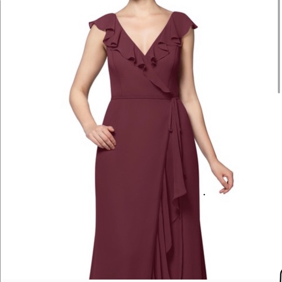 Azazie Dresses & Skirts - Azazie dress in Cabernet